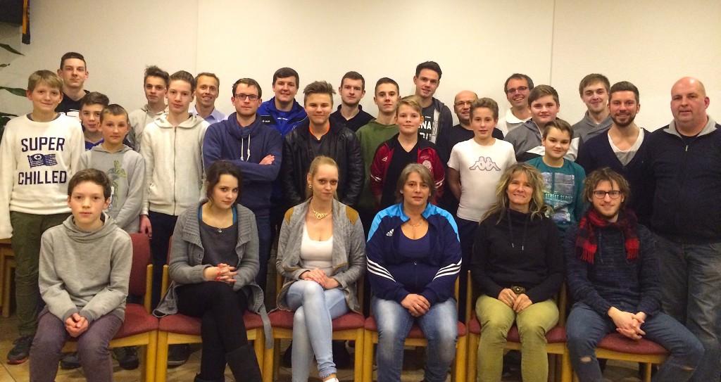 Die Teilnehmer des diesjährigen Neulingslehrgangs