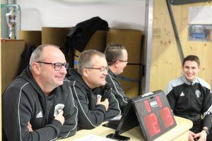 Die Turnierleitung des KJA mit Dirk Schellenberg, Jochen Mann und Stefan Gießelmann